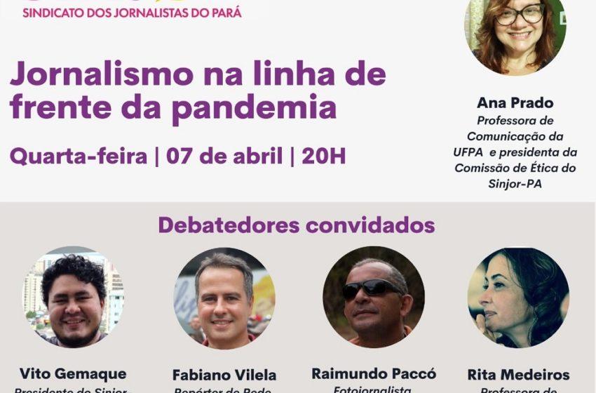 Sinjor-PA comemora o Dia do Jornalista com live