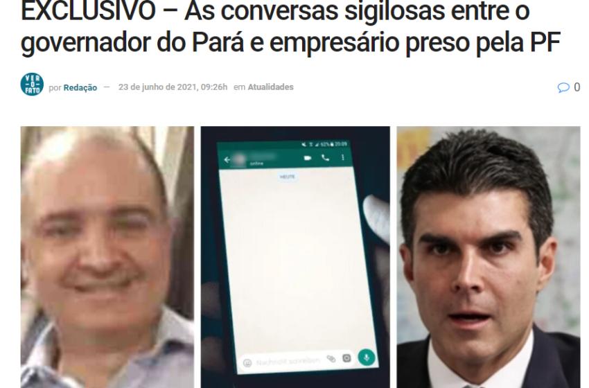 Site do jornalista Carlos Mendes é tirado do ar após denunciar governador Helder Barbalho