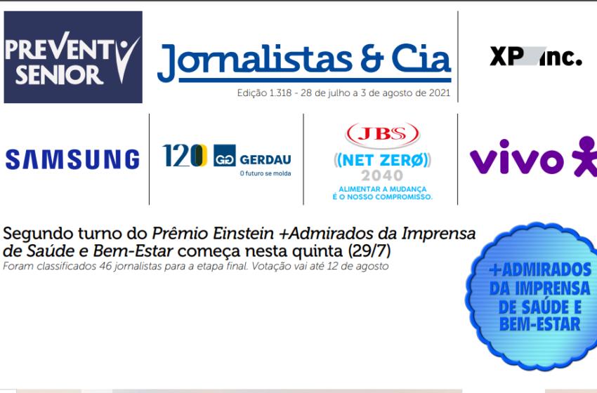 Jornalistas paraenses figuram no prêmio Einstein + Admirados da Imprensa de Saúde e Bem-estar