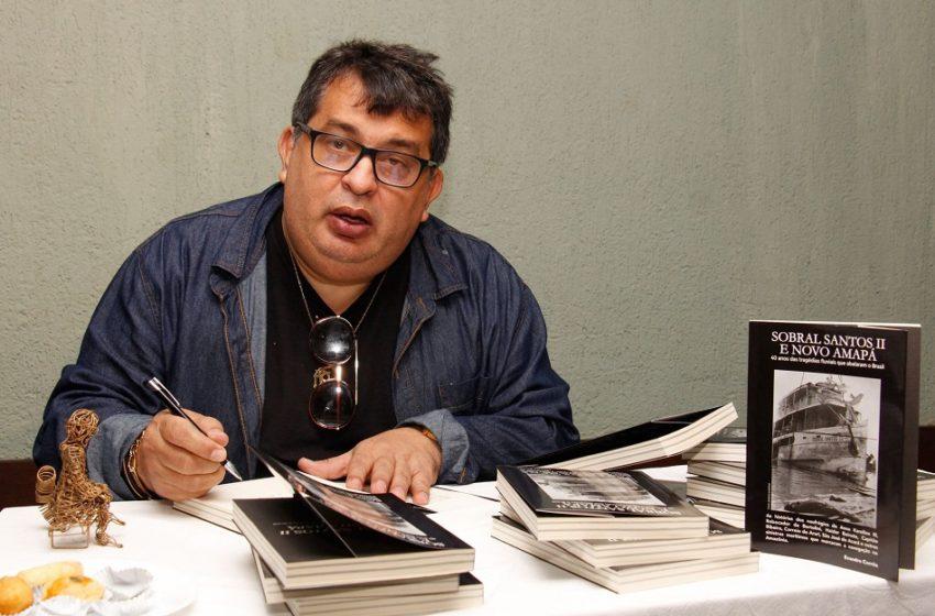 Imprensa alternativa de Belém prestigia lançamento de novo livro de Evandro Correa