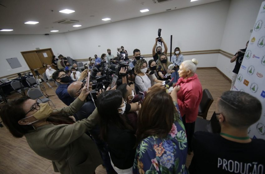 Coletiva de imprensa com Fafá de Belém apresenta a Varanda de Nazaré 2021